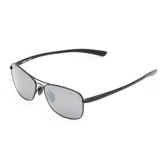 Bolle Men's 'Ventura' Shiny Black Aviator Sunglasses
