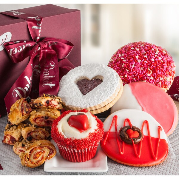 Dulcets Valentine's Day Cookie/ Cupcake Sweet Gift Box