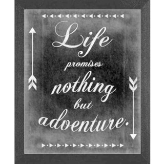 Ashely Hutchins 'Only Adventure' Framed Wall Art