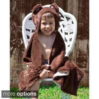 Animal Hoodie Baby Blanket