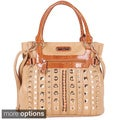 Nicole Lee 'Summer Flower' Studded Shoulder Bag