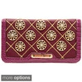 Nicole Lee 'Chrissy' Floral Quilted Wallet