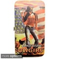 Nicole Lee Cowgirl Printed Case Wallet