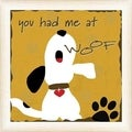 Anna Quach 'You Had Me at Woof' Framed Wall Art