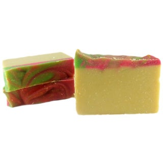 Handmade Natural Fruit Swirl Bar Soap
