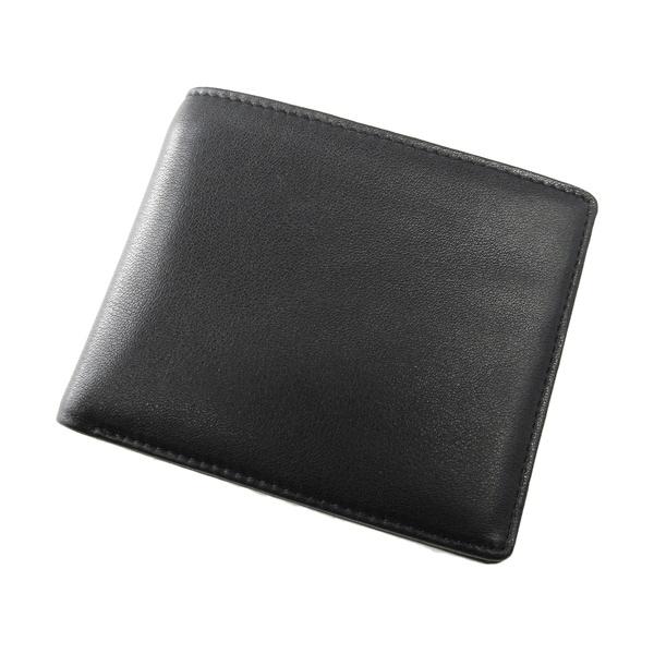 Joseph Daniel Men's Black Premium Leather Bi-fold Wallet