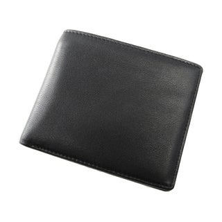 Joseph Daniel Men's Black Premium Leather Bi-fold Wallet
