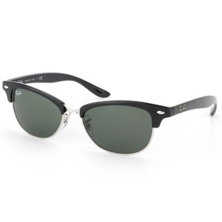Ray-Ban Women's 'RB 4132 Cathy Clubmaster' 601 Black And Silver Sunglasses