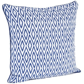 Ikat Design Down Filled Throw Pillow
