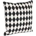 Harlequin Design Down Filled Throw Pillow