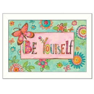 Bernadette Deming 'Be Yourself' Framed Wall Art