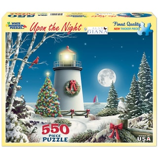 "Jigsaw Puzzle 550 Pieces 18""X24""-Upon the Night"