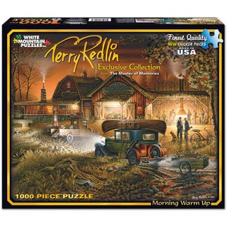 Morning Warm Up Puzzle Terry Redlin 1000 Pieces