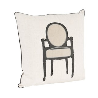 Chair Design Down Filled Throw Pillow