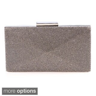 J. Furmani Diamond-shape Crystal Hardcase Clutch
