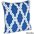 Moroccan Design Down Filled Throw Pillow