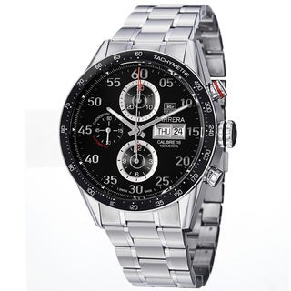 Tag Heuer Men's CV2A10.BA0796 'Carrera Calibre 16' Stainless Steel Bracelet Watch