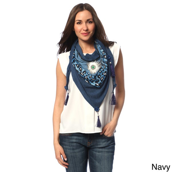 J. Furmani Triangle Shoulder Scarf