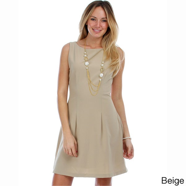 Solis Missy Sleeveless Flared Dress