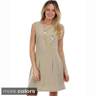 Solis Missy Sleeveless Flared Dress