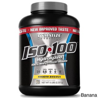 Dymatize ISO-100 5-pound Whey Protein Isolate Supplement