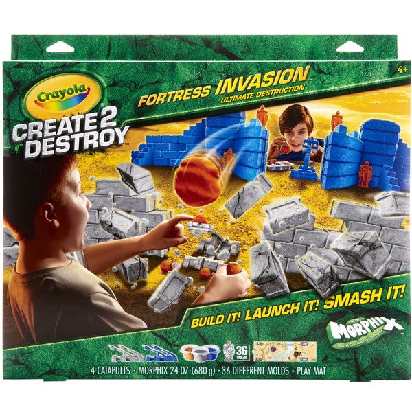 Create 2 Destroy Fortress Invasion Kit-Ultimate Destruction