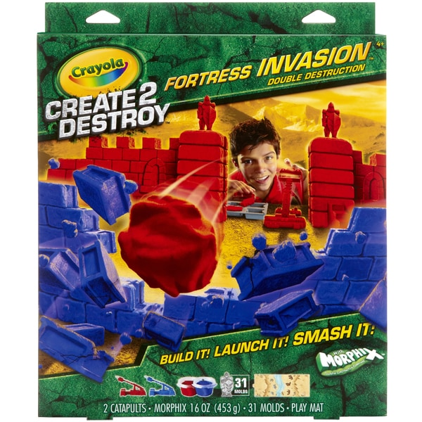 Create 2 Destroy Fortress Invasion Kit-Double Destruction