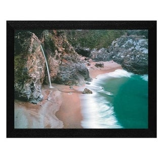 Dennis Frates 'Water Fall' Framed Wall Art