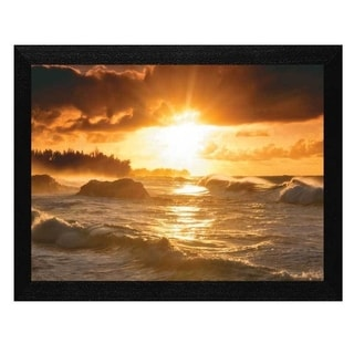Dennis Frates 'Sunset' Framed Wall Art