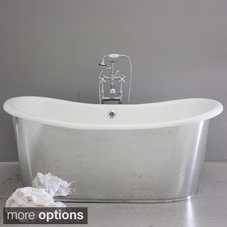 'The Westminster68' from Penhaglion 68-inch Cast Iron French Bateau Tub Package