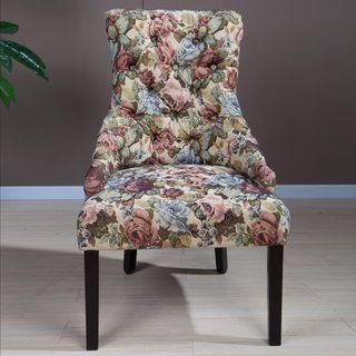 Kantoi Luxury Floral Dining Chair (Set of 2)