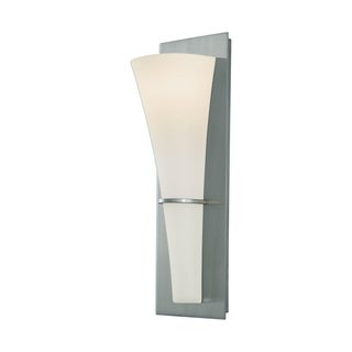 Barrington 1-light Opal Etched Glass Modern Wall Sconce