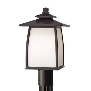 Wright House 1-light Outdoor Post Mount