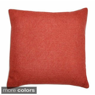 Dalton Solid Feather Filled Throw Pillow