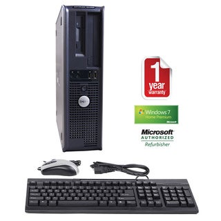 Dell GX620 Pentium D 2.8GHz 2048MB 250GB Win 7 Home Premium Desktop PC (Refurbished)