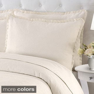 Maddie Cotton Coverlet with Optional Sham Sold Separately