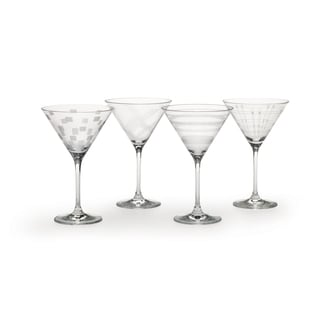 Mikasa Expressions Martini Glasses (Set of 4)