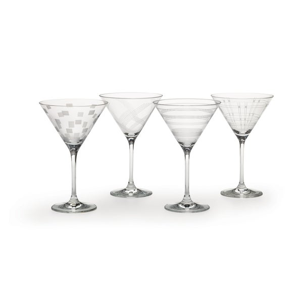 Mikasa Expressions Martini Glasses (Set of 4)