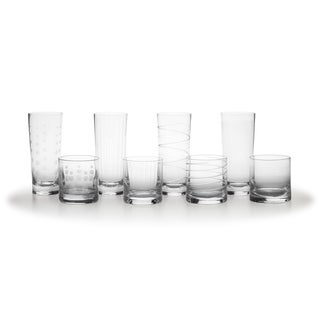 Mikasa Cheers Highball Double Old Fashioned (Set of 8)