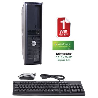 Dell GX620 Pentium D 2.8GHz 2048MB 160GB Win 7 Home Premium Desktop PC (Refurbished)