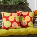 17-inch Square Outdoor Accent Pillow