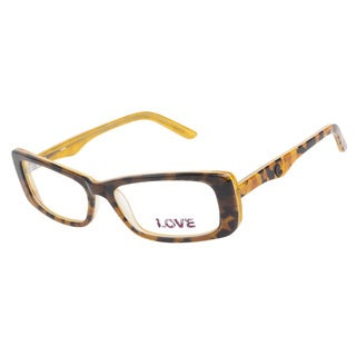 Love L749 Yellow Tort Prescription Eyeglasses