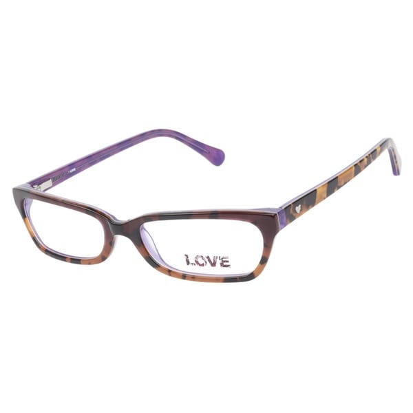 Love L755 Purple Tort Prescription Eyeglasses