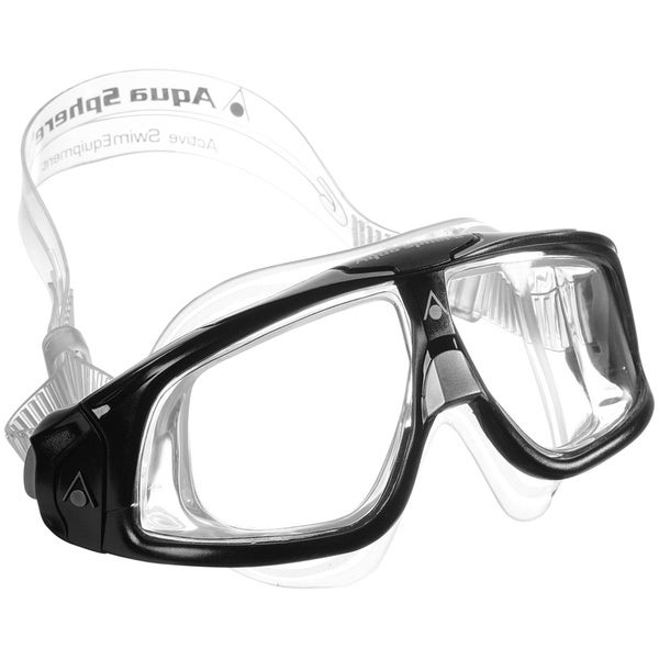 Seal Black/ Clear Underwater Goggles