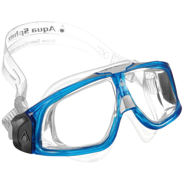 Seal Clear/ Blue Underwater Goggles