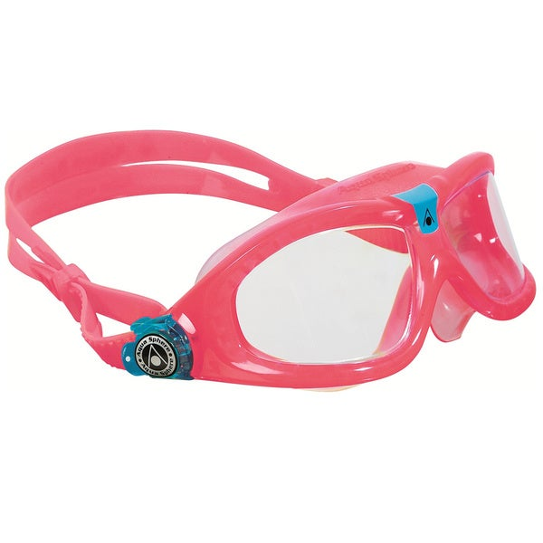 Seal Pink/ Clear Kid's Underwater Goggles