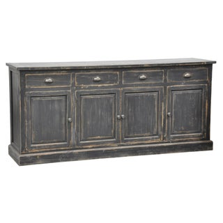 Kosas Home Rolli Blackwood Distressed Pine Storage Sideboard
