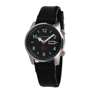 Android Men's 'Octopuz Automatic South Beach Edition' Black Watch