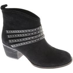 Women's Jessica Simpson Clauds Black Oiled Suede