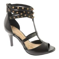 Women's Jessica Simpson Maniah Black Alsina Leather